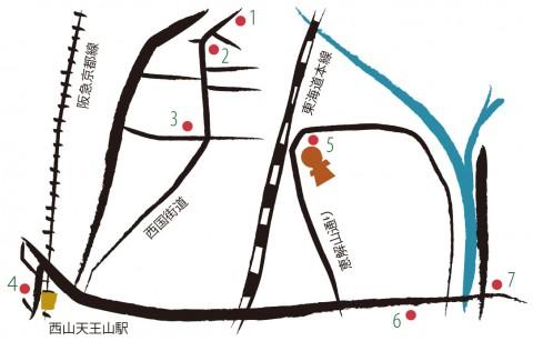 kofun-map